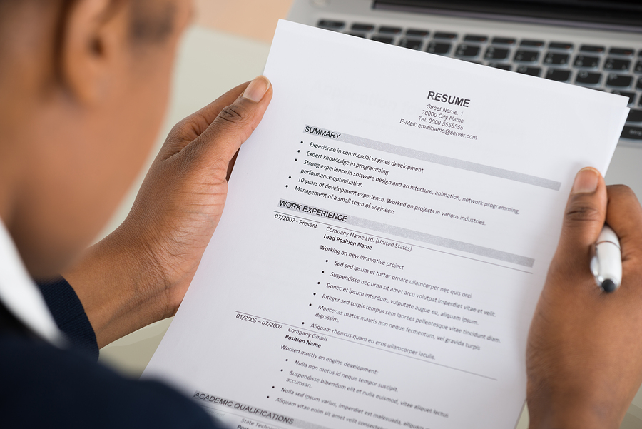 Name Blind Recruitment Meant To Exclude Biases From Hiring